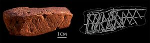 400px-Blombos_Cave_engrave_ochre
